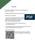 GTedeschi - Prospective Revision of Precedent.pdf
