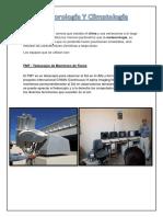 Informe metereología