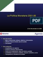 Pol Monetaria 00-06-Sergio Kurczyn