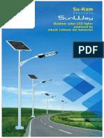 Sukam Solar Street Light