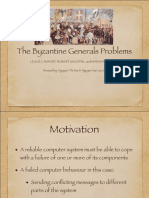 thebyzantinegeneralsproblem-140124040410-phpapp02