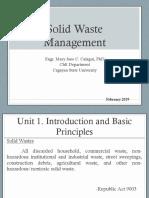 Lec1Solid Waste Management