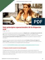 Seis principios operacionales de la litigación oral - Legis.pdf