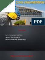 Civil Engineering presentation