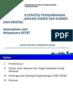 (ESDM) Seminar Aceh 24 September 2016