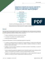 Metodología Estocástica Integral Para Evaluación de Proyectos Exploratorios