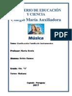 Maria Auxiliadora INSTRUMENTOS