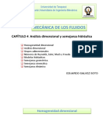 Capitulo 4 Analisis Dimensional