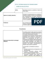 Estrategia Didáctica_Diseño de Enlace Óptico