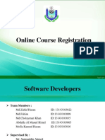 university online course registration system