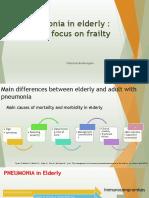 Pneumonia in elderly +