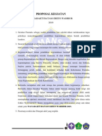 Proposal Kegiatan p3t