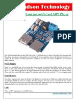 Gpd2856 Mp3 Player