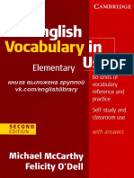 English Vocabulry in Use - Elementary.pdf