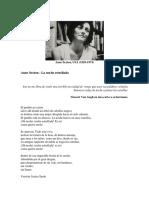 Anne Sexton poemas y traducciones