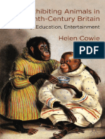 COWIE, H. Exhibiting animals in Ninettenth-Century Britain..pdf