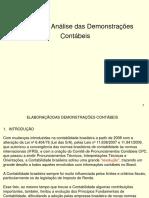 apresentação Estrutura e Analise Das Demonstrações Contábeis -2019
