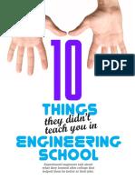 10 Things They Didnt Teach in Engineering School