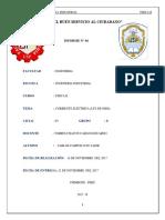 INFORME N° 04 - CORRIENTE ELECTRICA (LEY DE OHM) - FISICA II