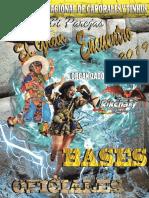 Bases Del II Concurso Nacional de Caporales y Tinkus Bi Parejas Sol y Luna Rikchariano 2019