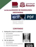 Radiología Abdominal Universidad del Rosario