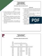 Crucigrama_Modelo de Base de Datos