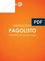 1- Instructivo Pagolisto - Registro en Saldo Azul