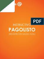 1- Instructivo Pagolisto - Registro en Saldo Azul