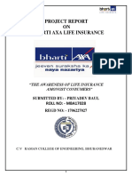 Internship Report on Bharti Axa.docx