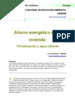 Ahorro Energetico en la Vivienda. Climatización y agua caliente