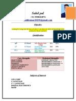 Sahil Resume New