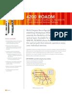 4200 Roadm Ds