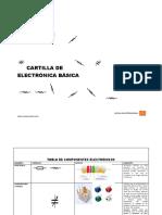 CARTILLA BASICA DE ELECTRONICA N°1