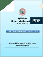 0M.Sc Mathematics Syllabus.pdf