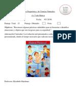 Prueba Diagnostica Ciencias Naturales 2019