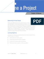 PMP 05 Define Project
