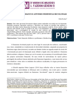 MULHERES, PERFORMANCE E ATIVISMO FEMINISTAS DECOLONIAIS