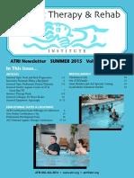Aquatic Therapy  and Rebabilitation