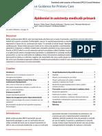 Managementul Dislipidemiei in Asistenta Medicala Primara