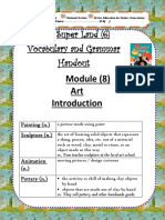 Vocabulary and Grammar Handout, M(10) - Copy.docx