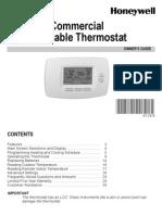 Honeywell Thermostat Tb7220U1012