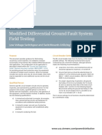 Modified ground fault protection