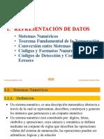 Representacion de Datos