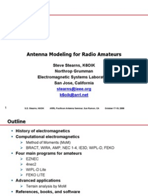 Antenna Modeling for Radio Amateurs | Computational