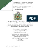 Perfil Biofisico Fetal Manning, Apgar