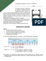 Gabarito P1 PME 3344 2016