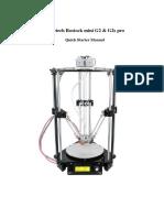 Geeetech Rostock mini G2 & G2s pro Quick Starter Manual .pdf