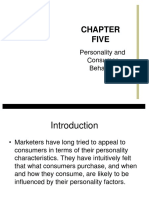 Personality and Consumer Behavior.ppt to Give in Class