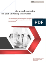 Strategies to write a good conclusion for your University Dissertation.pdf
