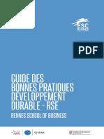 Guide Des Bonnes Pratiques Developpement Durable RSE